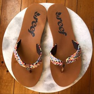Reef Multicolored Flip Flops / Sandals